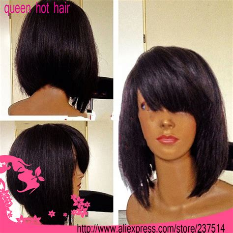 bob with brazilian weave bob lace front wigs brazilian hair short hairstyle 2013