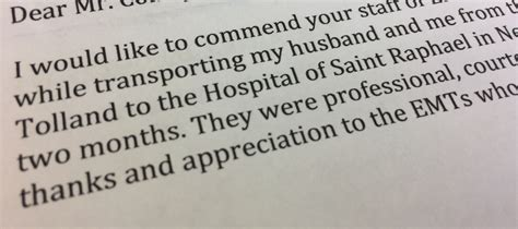 Thank You Letter To A Dedicated Asm Aetna Dedicated To Providing Consistent Timely And Clinically Excellent Service To