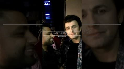 download mp3 happy birthday song by sonu nigam apurva pant wishing happy birthday to sonu nigam youtube