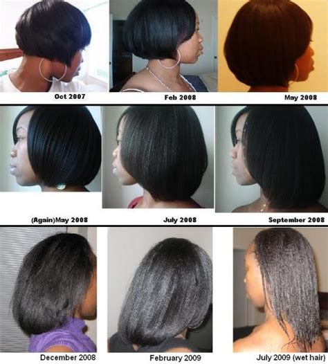 permed hair promote growth 17 meilleures id 233 es 224 propos de relaxed hair growth sur