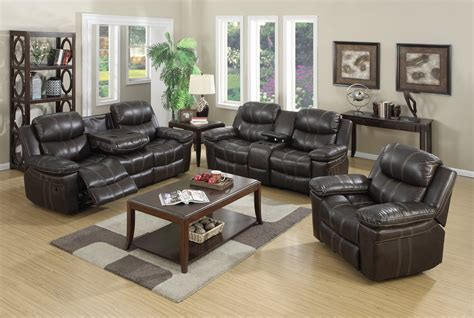 el dorado leather reclining sofa el dorado leather reclining sofa and loveseat mac s