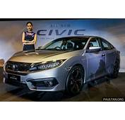 2016 Honda Civic FC Launched In Malaysia  18L And 15L