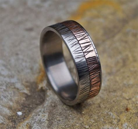 Eheringe Kupfer by 1000 Ideen Zu M 228 Nner Ringe Auf M 228 Nner Ring