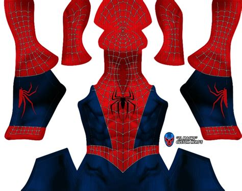 spider man raimi pattern spider man sam raimi el macho design cosplay sellfy com