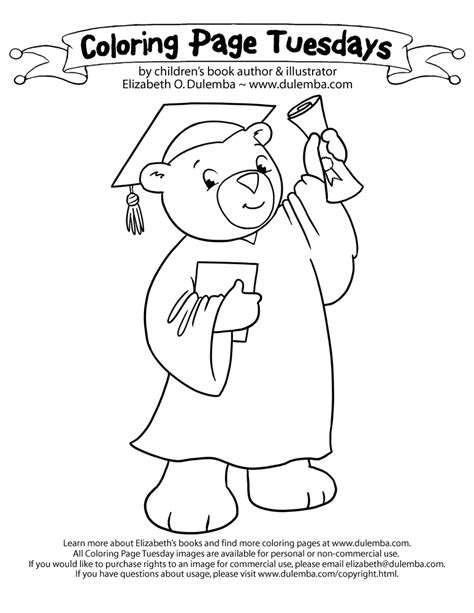 preschool graduation coloring pages az coloring pages