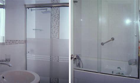 cristal templado en puerta de regadera y puerta de pvc con aglomerado puertas de ducha de vidrio templado