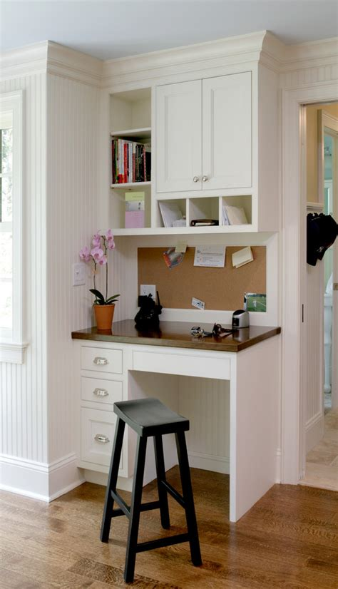 small kitchen desk ideas kitchen officebetterdecoratingbible
