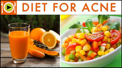 best foods for acne treatment healthy recipes doovi