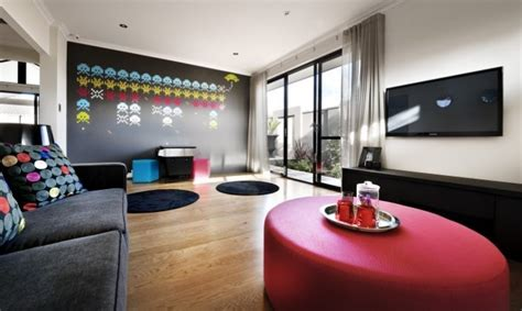 activity room awesome bursts of colour to brighten this activity room home decor ideas