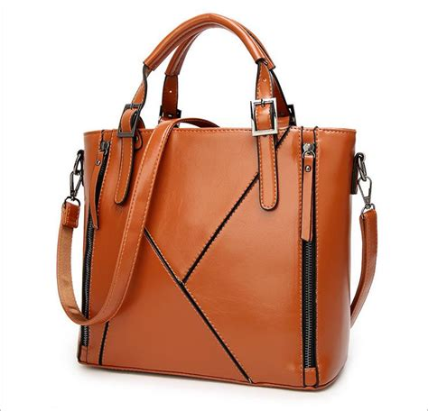 New Fashion Territory Purses by New Fashion Patchwork Designer Cattle Split Leather Bags