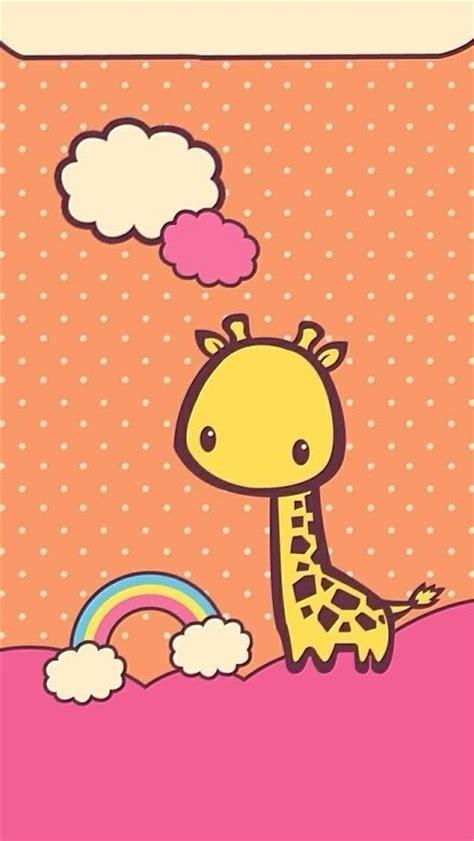 imagenes de amor con jirafas 可爱长颈鹿个性苹果手机壁纸 非凡图库