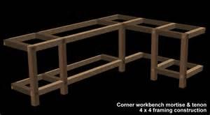 Garage Bench Designs Garage Corner Workbench Garage Shop Corner L Shape Workbench Design