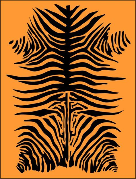 tiger stripe template printable 6 best images of stripe stencil printable zebra print