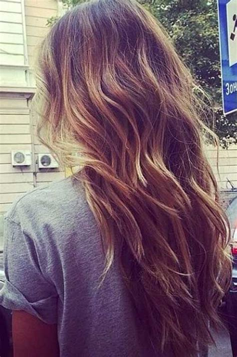 images of four equal layers haircut 25 best long wavy haircuts ideas on pinterest hair