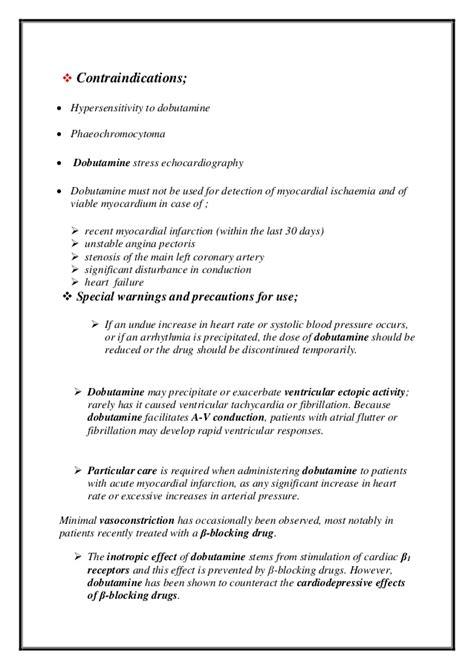 echocardiography report template dobutamine profile