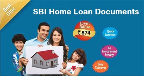 sbi housing loans documents required for sbi home loan applicant guarantor