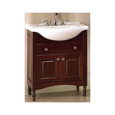 22 quot narrow depth bathroom vanity base