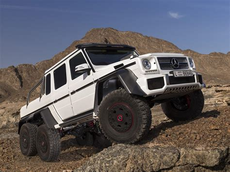 Armored Mercedes Benz G63 AMG 6x6 to Cost $1.3 Million