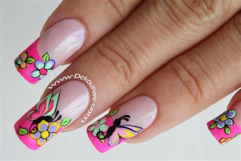 imagenes uñas decoradas mariposas decoracion de u 241 as con mariposas