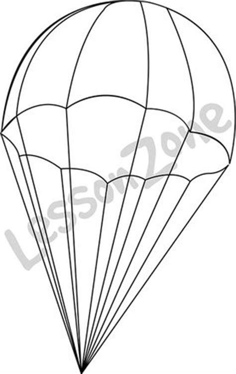 army parachute coloring pages parachute clipart black and white www pixshark com