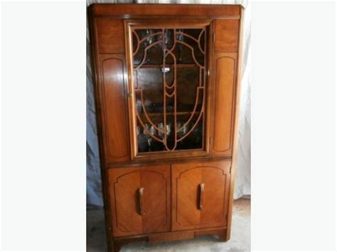 art deco waterfall china cabinet stunning art deco waterfall china cabinet malahat
