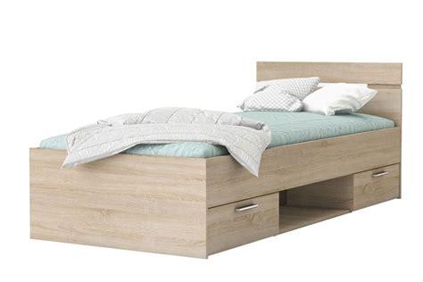 cama de  cajones  hueco de  en color roble al mejor precio