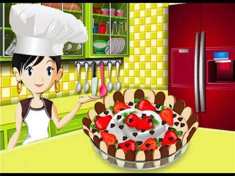 sara juegos de cocina mouse choco cake juegos de cocinar con sara youtube