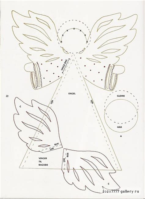 pattern paper angel christmas craft ideas paper angel tutorial crafts ideas