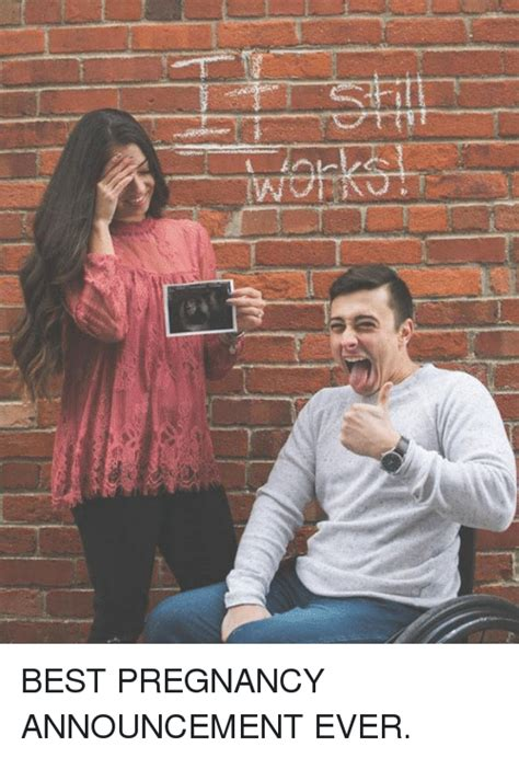 Baby Announcement Meme - 25 best memes about pregnancy announcement pregnancy