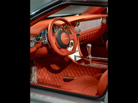 Spyker C8 Aileron Interior by 2009 Spyker C8 Aileron Interior 2 1280x960 Wallpaper
