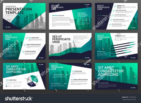 Business Presentation Templates Infographic Elements Use Stock Vector 713353075 Shutterstock Powerpoint Templates For Website Presentation