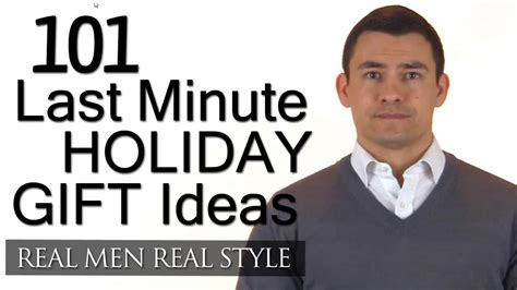 101 last minute holiday gifts gift ideas for men