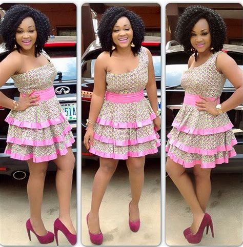 latest traditional style on 2014 pictures short gown styles in nigerian ankara 2017 for wedding