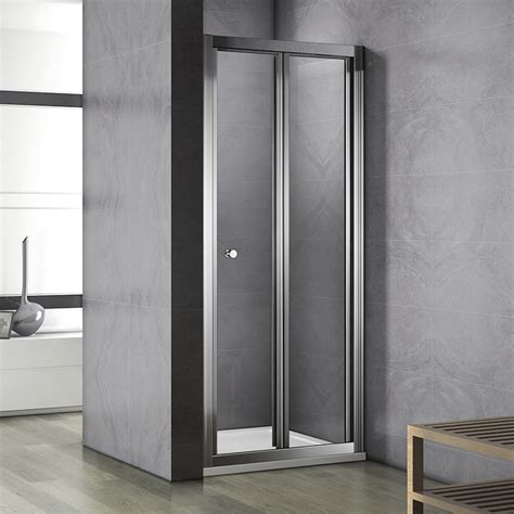 Aica 700 760 800 900 1000 Bi Fold Shower Door Enclosure Space Saving Shower Doors