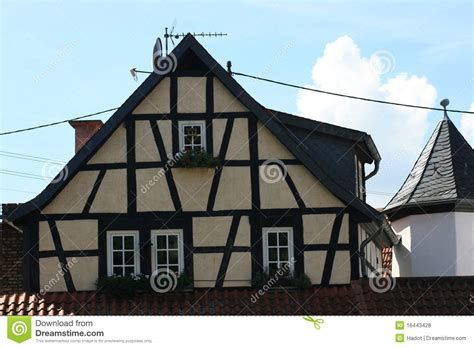 half timbered house plans half timbered house royalty free stock photos image 16443428