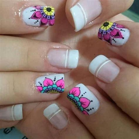 imagenes uñas decoradas mandalas las 25 mejores ideas sobre dise 241 os de pedicura en