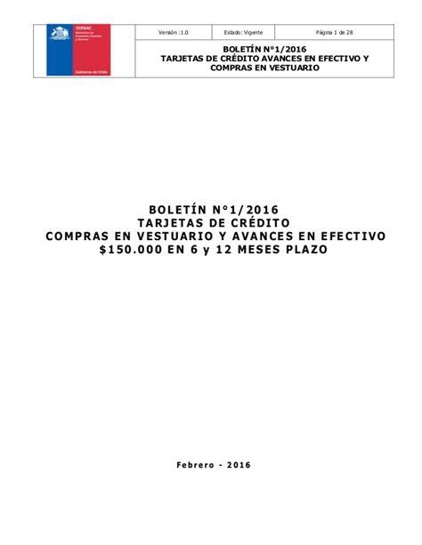 copras en efectvo deducibles 2016 bolet 237 n del sernac sobre uso de una tarjeta de cr 233 dito en
