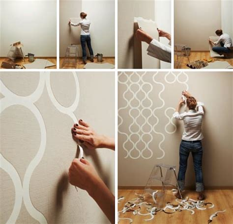 diy decorating let er rip cool new home wallpaper for diy room decor