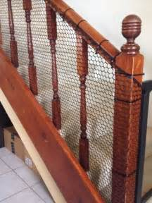 banister guard mom hack easy inexpensive diy banister guard