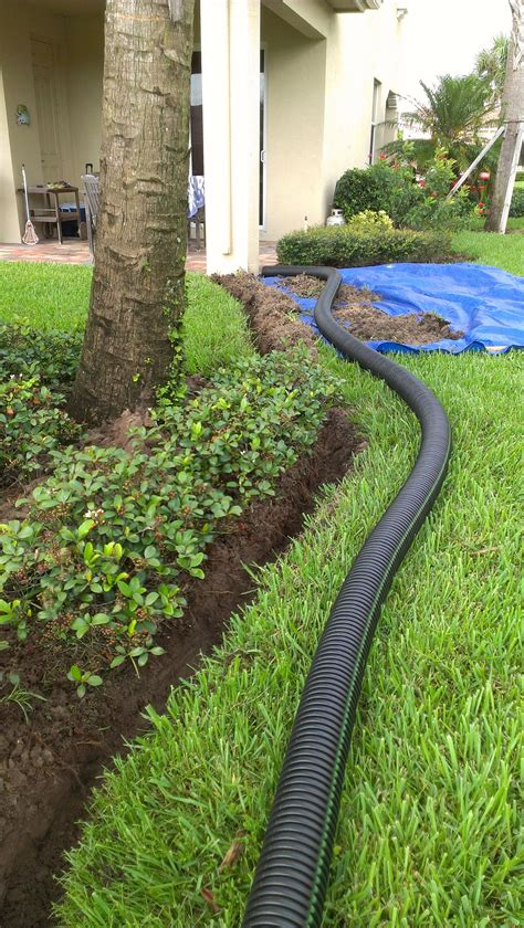 roofing great drainage solution  gutter drain ideas