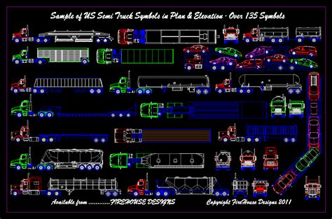 truck templates for autocad autocad truck turning radius template images