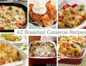 40 breakfast casseroles holiday christmas brunch recipes saturday inspiration ideas
