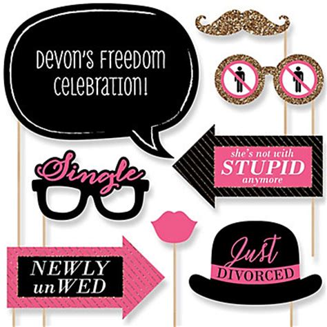 new year ideas for singles divorce 20 divorce photo booth props