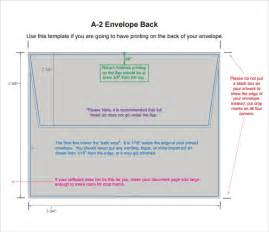 a2 envelope template a2 envelope template 7 free documents in pdf