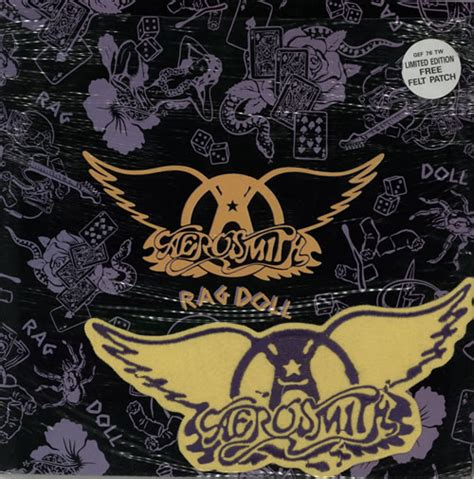 rag doll aerosmith aerosmith rag doll patch uk 12 quot vinyl single 12 inch