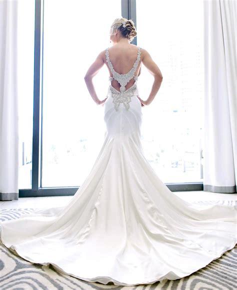 discount wedding dresses preowned wedding dresses pnina tornai 5179 wedding dress