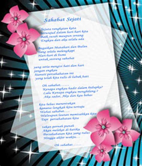 membuat puisi sahabat ahmad r dragons puisi sahabat sejati