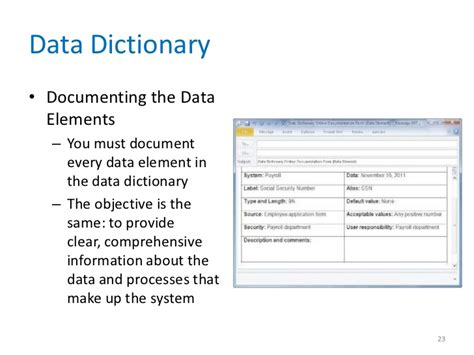 business data dictionary template great data dictionary sle template photos gt gt business