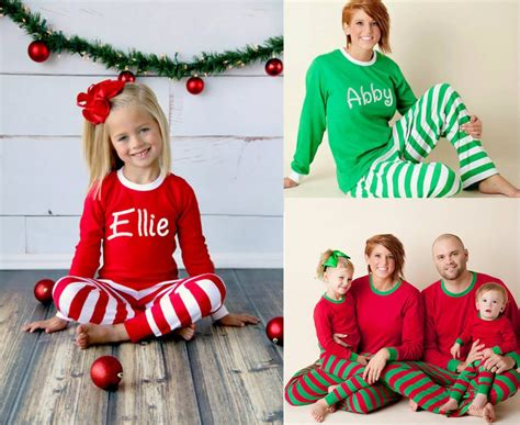 adorable matching mother daughter pajamas family style