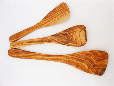 Handmade Kitchen Utensils - handmade olive wood spatula set wooden spatula set